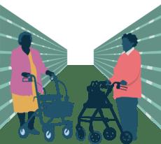 Sociaal actieve ouderen