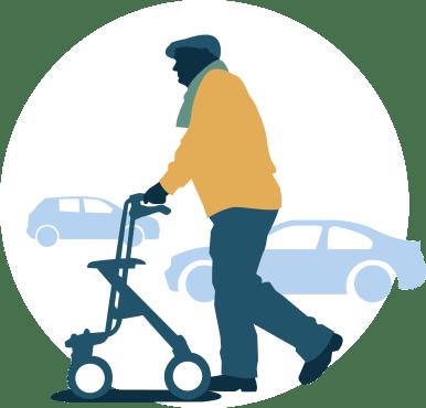 Bewegingsvrijheid ouderen